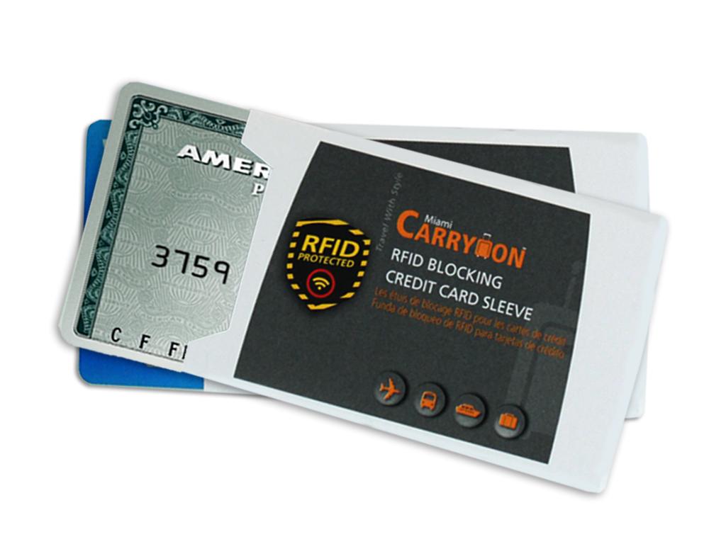 Rfid blocking credit card sleeve miami carryon wholesale rfid credit card sleeveanti tear buycottarizona
