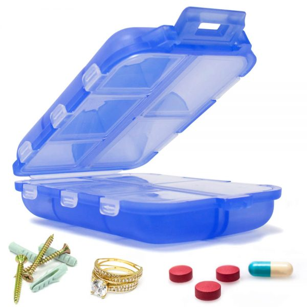 10 Slot Pill Box