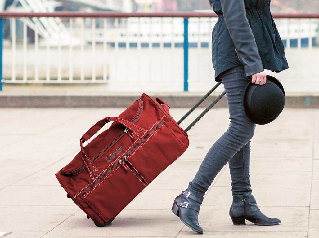 Gray Duffle Sample Bag