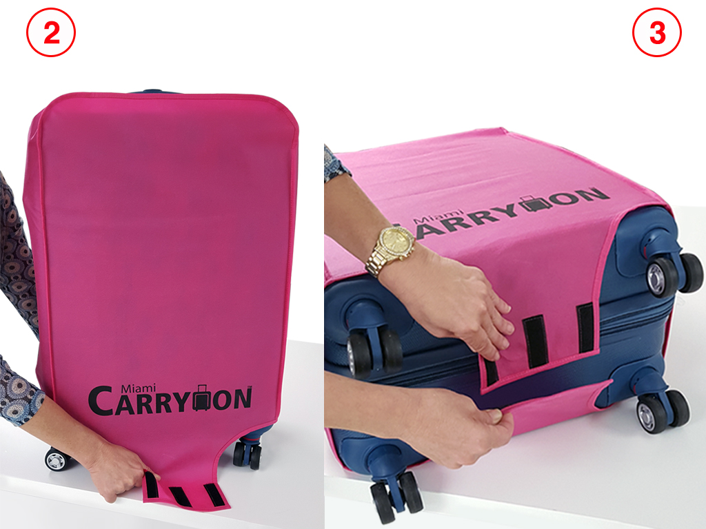 26 Inch Luggage Cover Miami Carryon Naftali Travel