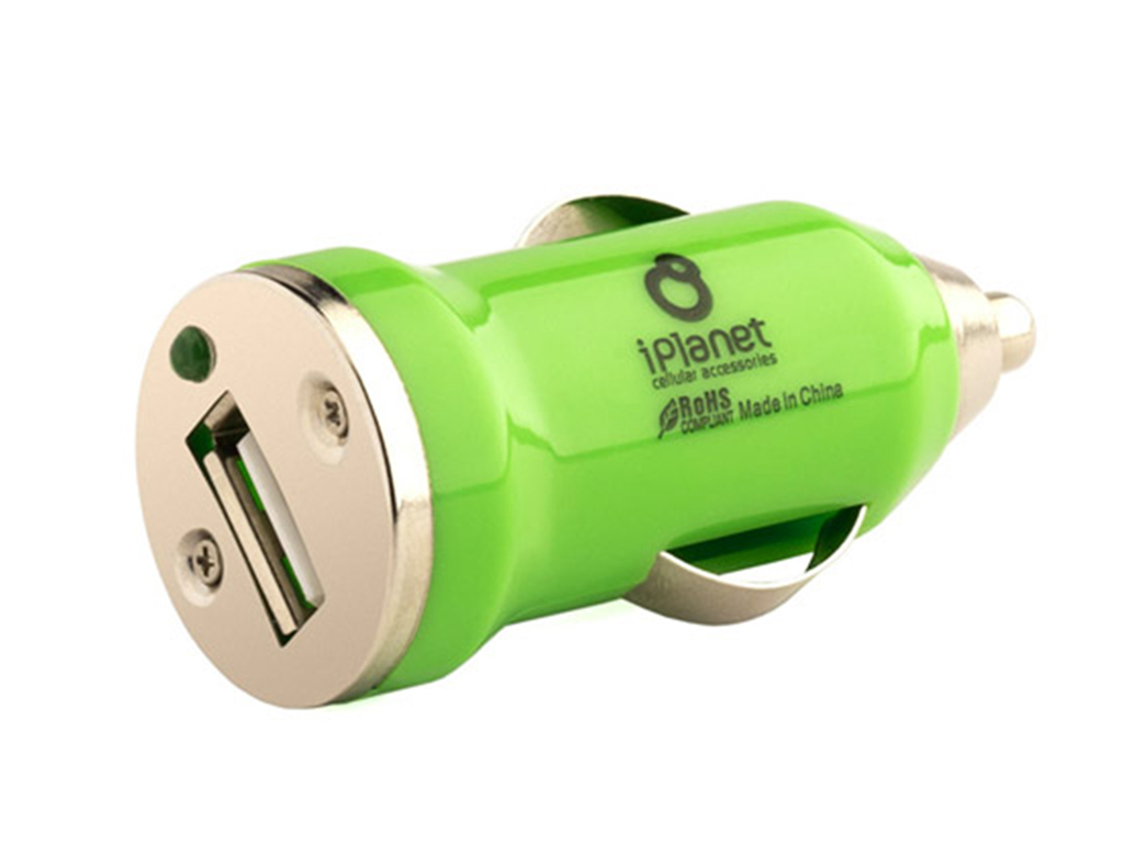 Colored usb car charger - Green Usb Car Charger Iplanet