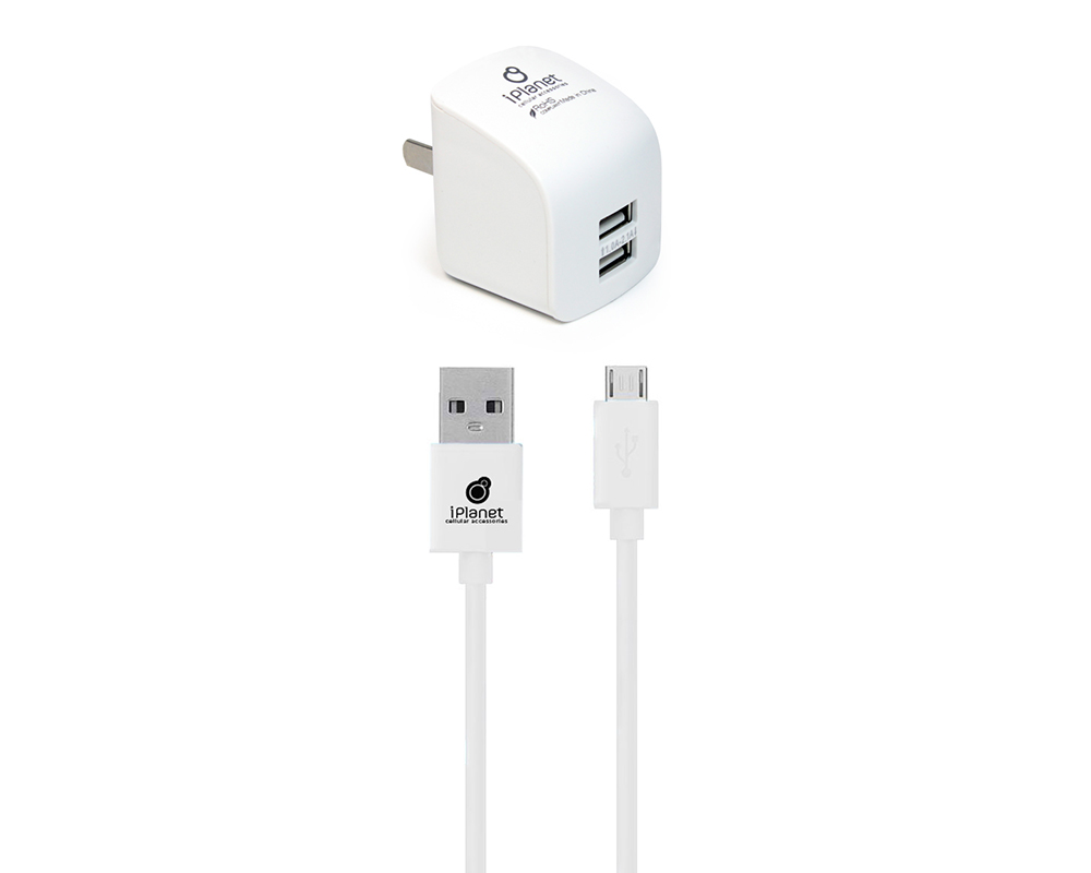 white wholesale cell phone charger