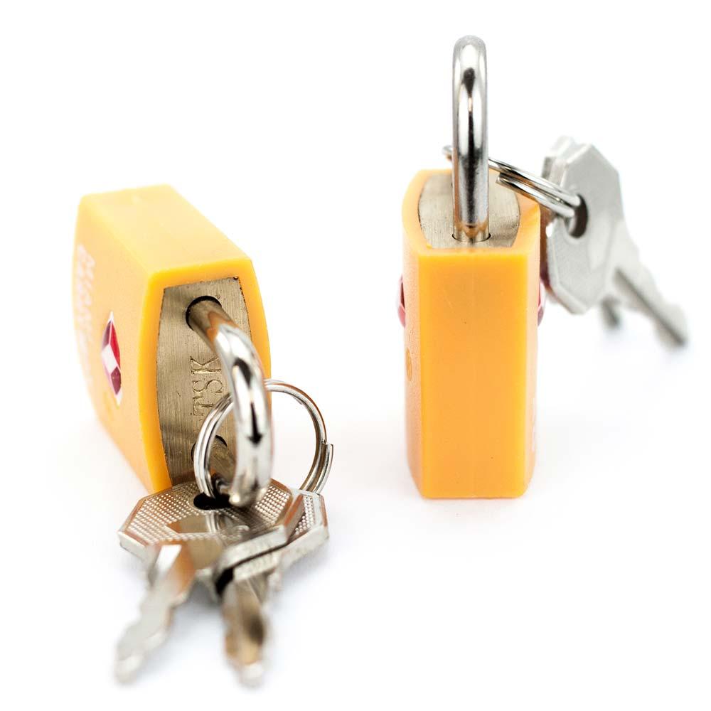 e1e55a646af1 TSA Approved Keyed Luggage Padlock - 0.9