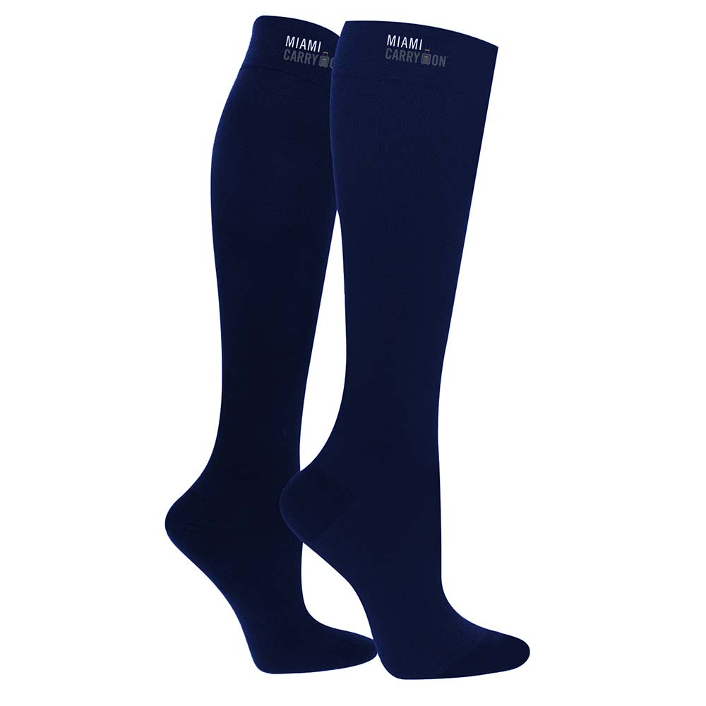 19d8a5b2cb Miami CarryOn Compression Socks for Travel, Diabetic – Blue (One Size)