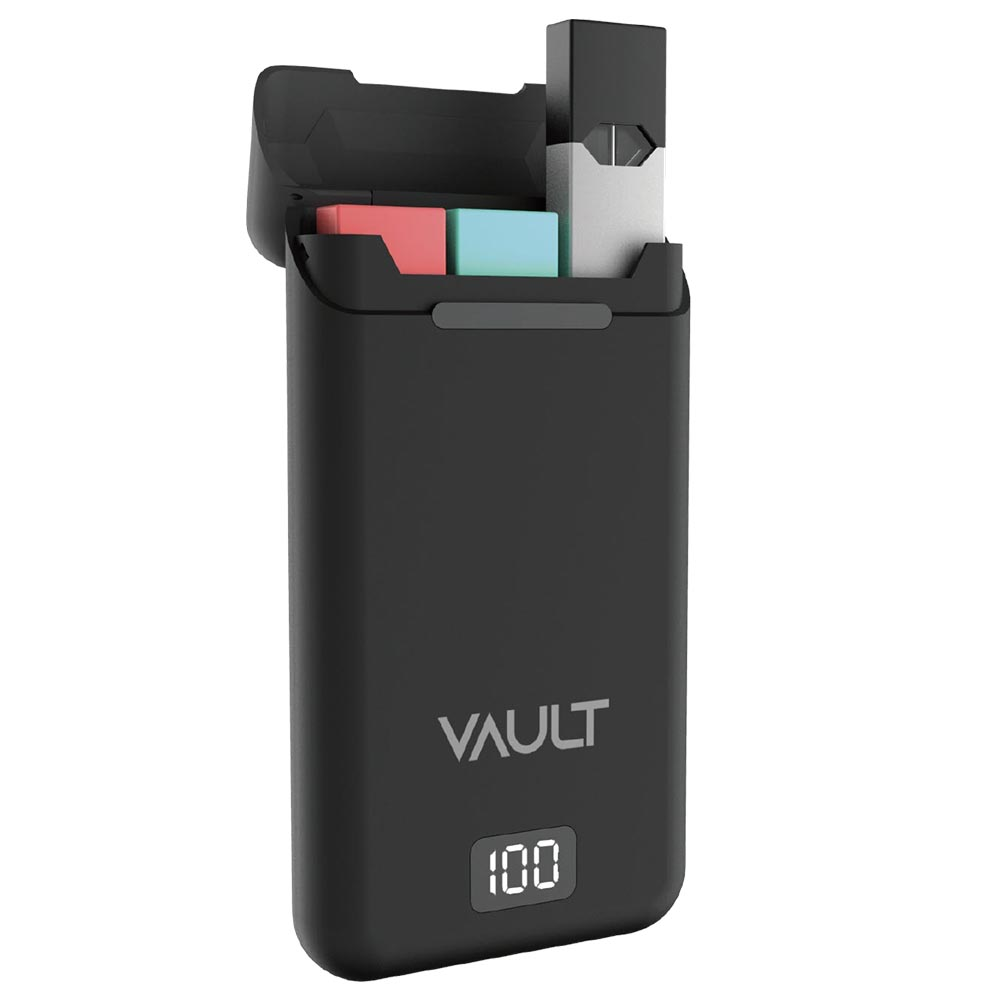 Tzumi Vault Portable Charging Case for JUUL Device Holds 3 Pods 1 Device