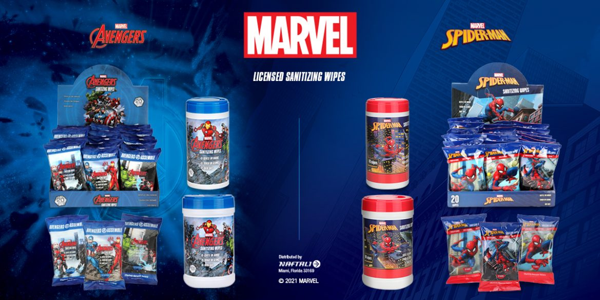 Marvel Wipes 1200x600
